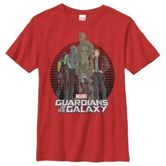 Guardians of the Galaxy Stripe Boy's Shirt