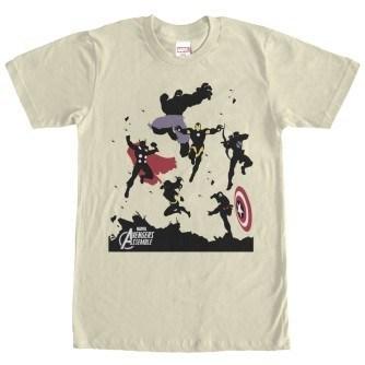 Avengers Assemble Attack Tshirt