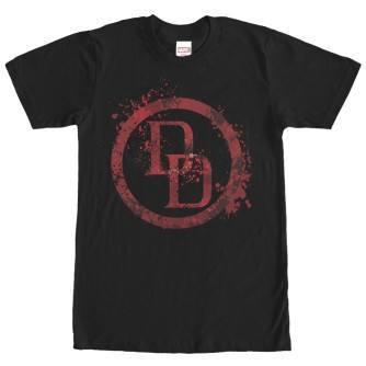 Daredevil Logo Splatter Tshirt