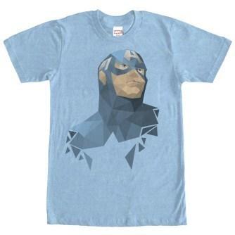 Geometric Captain America Tshirt