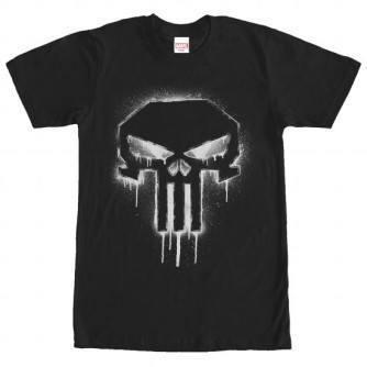 Punisher Spray Paint Tshirt