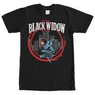 Widow In Circle Tshirt